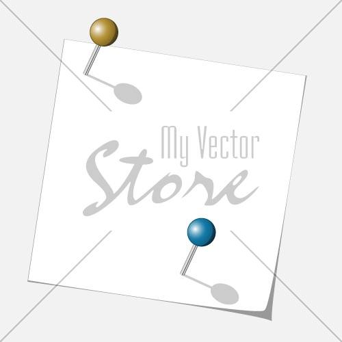 vector push pins