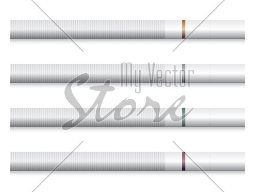 vector cigarettes - white filter