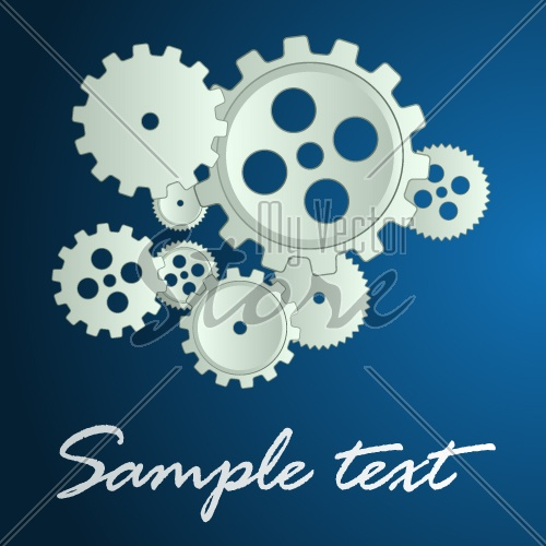 vector sprockets background