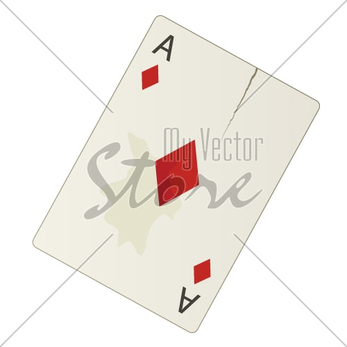 vector damaged ace