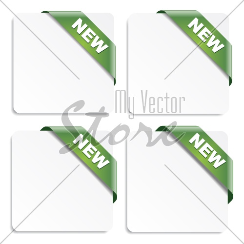 vector new ribbons