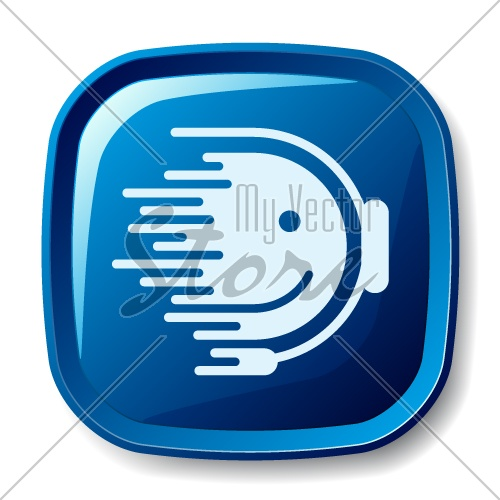 vector blurred flowing support icon