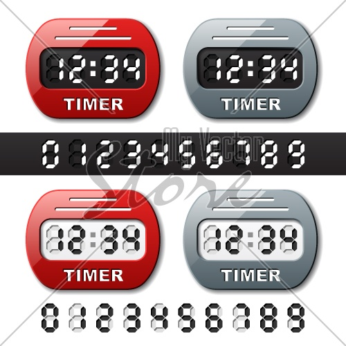 vector mechanical counter - countdown timer