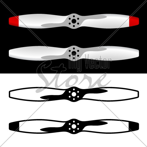 vector airplane propellers