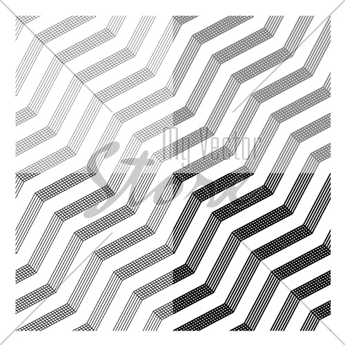 vector line tile seamless black background