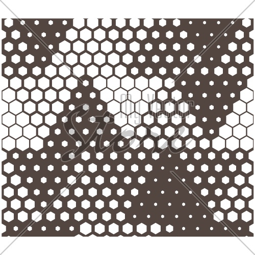 vector triangle hexagon tile seamless background