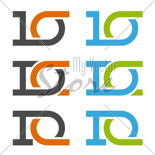 10 anniversary number vector
