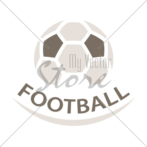 football ball brown icon symbol vector