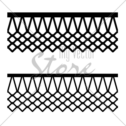 basketball basket net seamless pattern vector