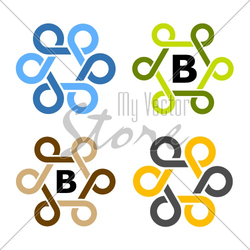 simple loops frame symbol vector