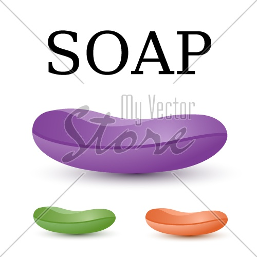soap simple icon vector