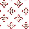 vector red flower seamless