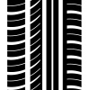 vector seamless trace of the tyre