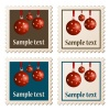 vector postage stamps