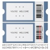 vector modern tickets