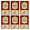 vector coffee labels
