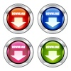 Vector download glossy buttons