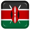 Vector kenya flag