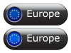Vector EU flag buttons