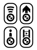 vector bmw spirit design navigation buttons
