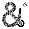 vector shoe lace ampersand symbol