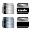 vector water saving aerator