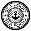 vector sea food stamp