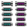 vector chrome glowing digital counter