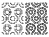 vector black white seamless abstract pattern