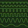 vector oscilloscope screen editable lines
