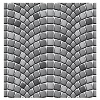 vector seamless cobblestone pavement pattern
