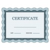 blank classic certificate decorative vector