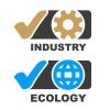 check mark industry ecology symbol vector