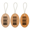vector barcode wooden tags