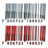vector 3d abstract barcodes