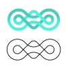 unity community knot design template vector