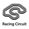 3d racing circuit vector
