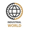 industrial gear world simple symbol vector